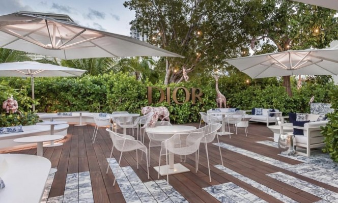 Miami Design District Dior Cafe